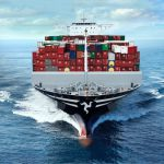 Isle of Man flagged container ship